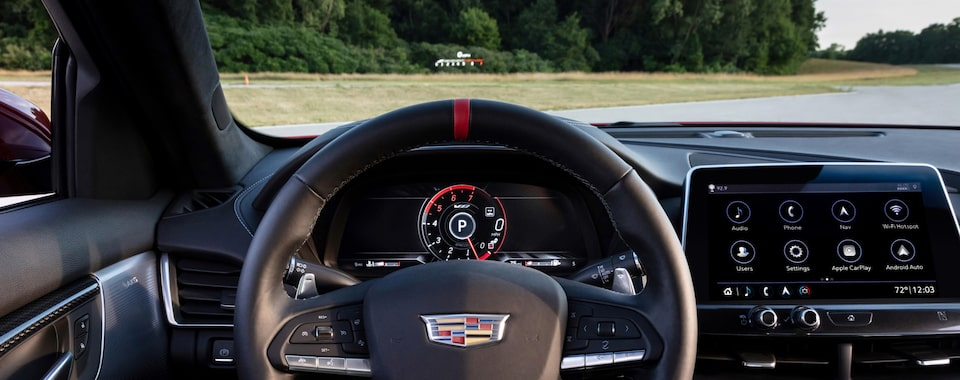 CT5-V Blackwing Technology Head Up Display & Infotainment