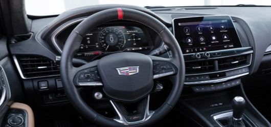 CT5-V Blackwing Interior Steering Wheel, Dashboard and Infotainment Display