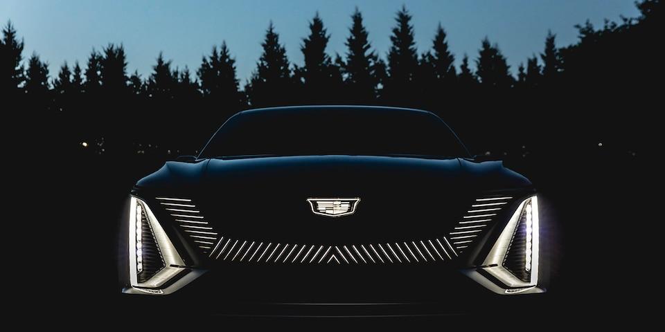 Cadillac LYRIQ EV Grille Lights