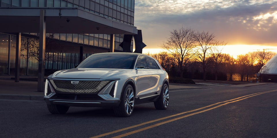 Cadillac LYRIQ EV Exterior Gallery - Front Angle View