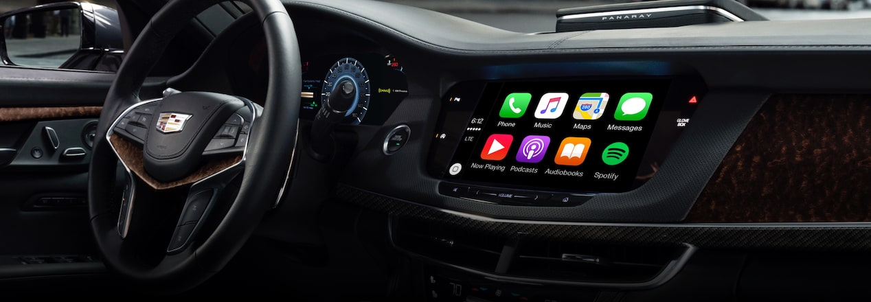 Infotainment with Apple CarPlay