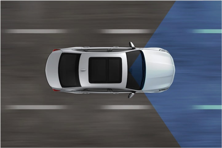 Cadillac: Lane Keep Assist