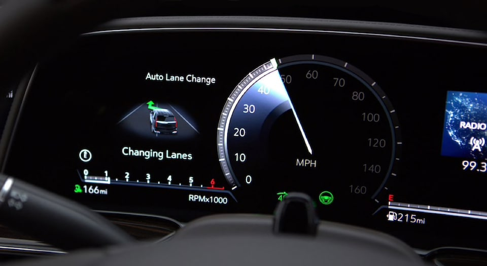 Cadillac Supercruise Driver Assistance Lane Changing Technology Video